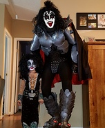 Gene Simmons KISS Homemade Costume