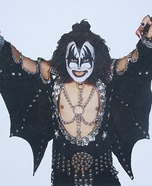 Gene Simmons of KISS Homemade Costume