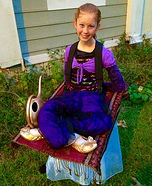 Genie on a Flying Carpet Illusion Costume