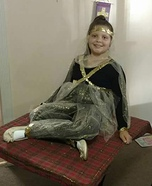 Genie on a Flying Carpet Homemade Costume