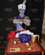 Optical Illusion costumes - Genie on a Flying Carpet Illusion Costume