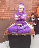 Genie on a Magic Carpet Homemade Costume