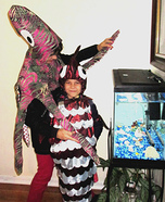 Gentle Giant Octopus and Slippery Fish Homemade Costume