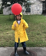 Georgie from IT Homemade Costume