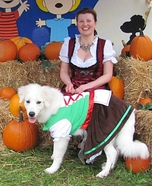 German Dirndls Homemade Costume