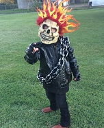 Ghost Rider Homemade Costume