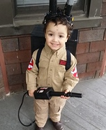 boys ghostbuster costume