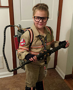 Ghostbuster Girl's Costume