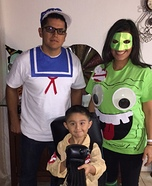 DIY Ghostbusters Family Costume