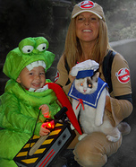 Fun family Halloween costume ideas - Ghostbusters Costume