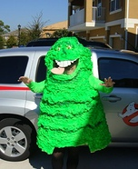 Ghostbusters and Slimer Homemade Costume