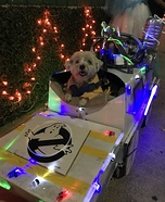 Ghostbusters Dog Homemade Costume