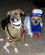 Creative costume ideas for dogs: Ghostbusters Dog Costumes