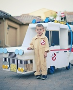 Ghostbusters Ecto 1 Homemade Costume