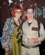 Ghostbusters Janine Melnitz and Louis Tully Homemade Costume