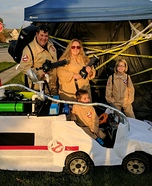 Ghostbusters & Ecto-1 Homemade Costume
