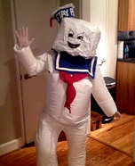 Ghostbusters Stay Puft Marshmallow Man Homemade Costume