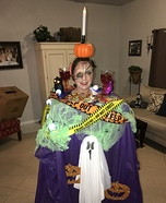 Ghoulish Feast Homemade Costume