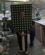 Giant Fly Swat Homemade Costume
