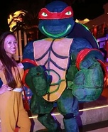 Giant Ninja Turtle Raphael Homemade Costume