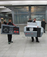 Giant Nintendo Homemade Costume