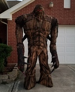 Giant Scarecrow Swamp Monster Homemade Costume