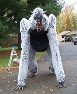Giant Werewolf Homemade Costume