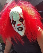 Giggles the Psychotic Clown Homemade Costume