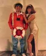 Gilligan & Ginger Couple Homemade Costume