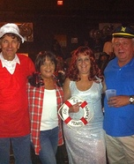 Gilligan's Island Homemade Costume