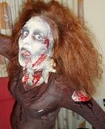Homemade Ginger Zombie Costume