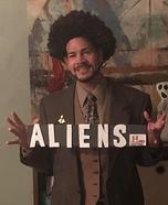 Giorgio Tsoukalos from Ancient Aliens Homemade Costume