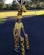 Homemade Giraffe Costume