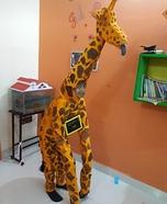 Giraffe Homemade Costume