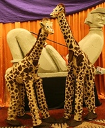 Giraffes Homemade Costumes
