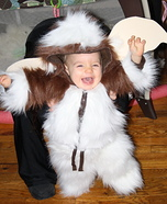 Homemade Gizmo Baby Costume