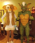 Gizmo and Gremlin Homemade Costume