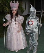 Glinda and Tin Man Costume