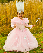 Glinda from Wizard of Oz Homemade Costume