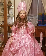 Glinda the Good Witch Homemade Costume