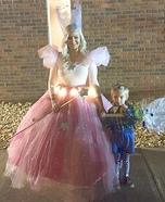 Glinda the Good Witch & Munchkin Homemade Costume