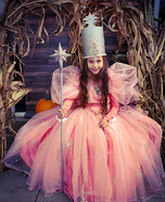 Glinda the Good Witch of the North Homemade Costume
