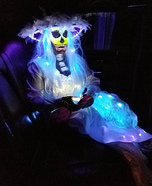 Glowing Bride Homemade Costume