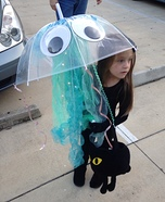 Glowing Jellyfish Homemade Costume