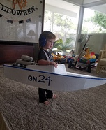 GN 24 Race Boat Driver Homemade Costume