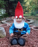 Gnome Toddler Costume