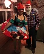 Gnome Couple Homemade Costume