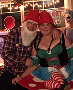 Gnome Couple Homemade Costume