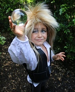 Goblin King Boy Homemade Costume