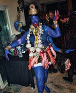 Goddess Kali Halloween Costume